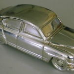 model car silver plated